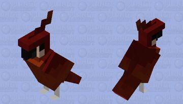 Cockblocker Parrot Minecraft Mob Skin