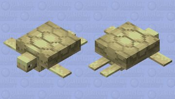 sand turtle Minecraft Mob Skin