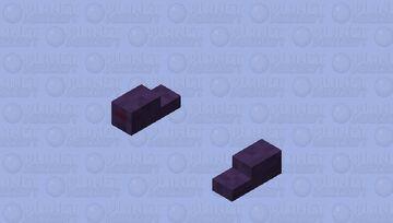 Endermite / original size Minecraft Mob Skin