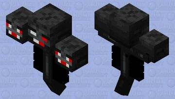 Withered Boss Minecraft Mob Skin