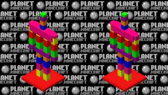 Rainbow 🌈 Armour stand Minecraft Skin