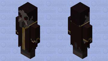 Vampire Evoker (𝕱𝖔𝖗𝖇𝖎𝖉𝖉𝖊𝖓 𝕾𝖔𝖚𝖑𝖘) Minecraft Mob Skin