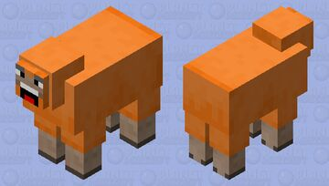 Baa! Minecraft Mob Skin