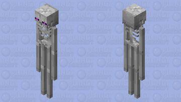 Ender Skeleton Minecraft Mob Skin