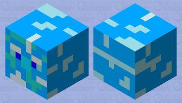 Frozen Magma Cube Minecraft Mob Skin