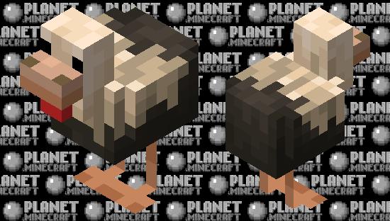 Skewbald Chicken-MCEarth Minecraft Skin