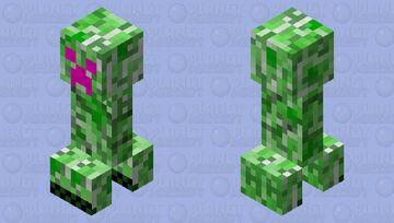 Enchanted Creeper Minecraft Mob Skin