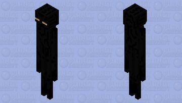 Amber-eyed endermen Minecraft Mob Skin