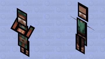 Paper Hydromancer Minecraft Mob Skin