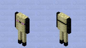 Enderhider / variation of enderman Minecraft Mob Skin