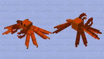 Crab / on the coasts Minecraft Mob Skin