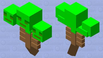 TREE-THER Minecraft Mob Skin
