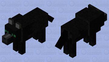 Fenris wolf from Thor Ragnorok Minecraft Mob Skin