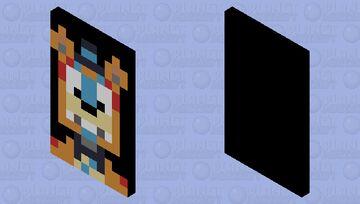 glam rock freddy 3 cape Minecraft Mob Skin