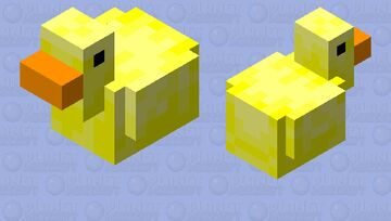 Cute Ducky Minecraft Mob Skin