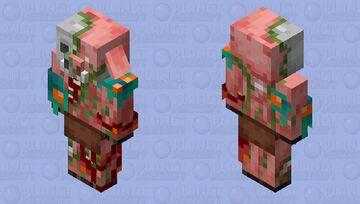 Zombified Piglin Edit Minecraft Mob Skin