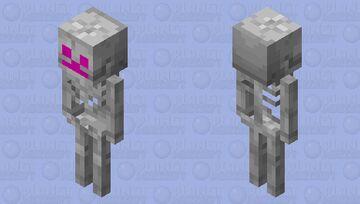 Enchanted Skeleton Minecraft Mob Skin