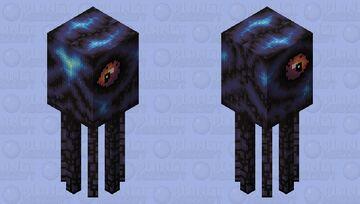 Void squid Minecraft Mob Skin