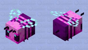 Bubblegum Bee Minecraft Mob Skin