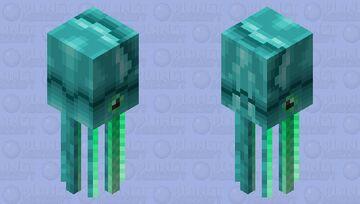 Cursed humboldt squid Minecraft Mob Skin