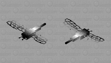 Black-white rainbow dragonfly Minecraft Mob Skin