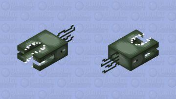 deep ocean monster Minecraft Mob Skin