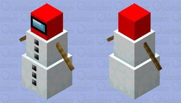 Snowmongus Minecraft Mob Skin