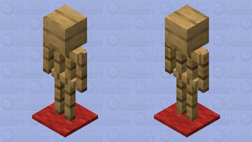 Fancy Dummy Minecraft Mob Skin