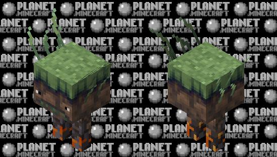 Overworld Strider (Biome Swap) Minecraft Skin