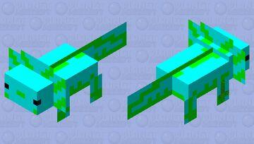 No sé que es pero tiene mis colores faforitos :) Minecraft Mob Skin