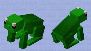 Frog Minecraft Mob Skin