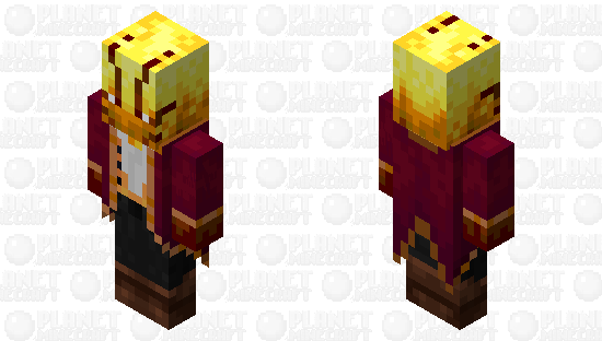 Blazellager / re-texturing / v.1 Minecraft Skin