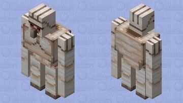 The Iron Golem (Remade) Minecraft Mob Skin