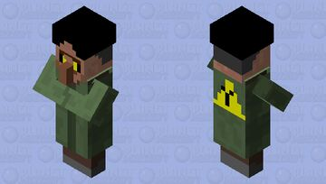possesed villager Minecraft Mob Skin