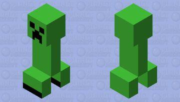Creeper Simplified (Pop-Reel) Minecraft Mob Skin