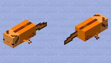 Adult orange Minecraft Mob Skin