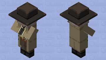 "A trading ""Resident"" VII-lager ~ Karl Heisenberg ⚔ Minecraft Mob Skin"
