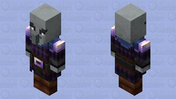 Pillagers re-texturing / level ? / Amethyst Shard Minecraft Mob Skin