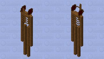 siren head Minecraft Mob Skin