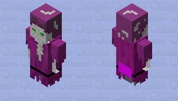 skeleton floater/arms down Minecraft Mob Skin