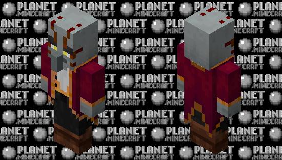 Blazellager / re-texturing / v.2 Minecraft Skin