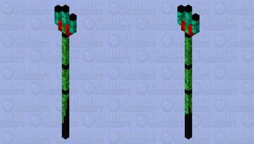 Trident of the Demon Clan Minecraft Mob Skin