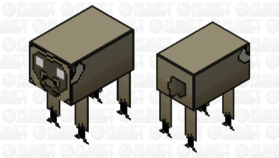 Don't Starve - Beefalo Minecraft Skin