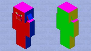tutorial mob skins be like: Minecraft Mob Skin