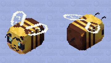 Cute HD Bee Minecraft Mob Skin