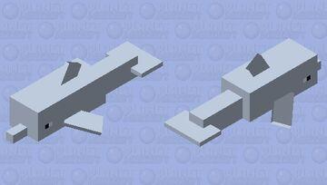 Dolphin Simplified Minecraft Mob Skin