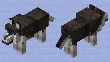Untamed Husky Minecraft Mob Skin