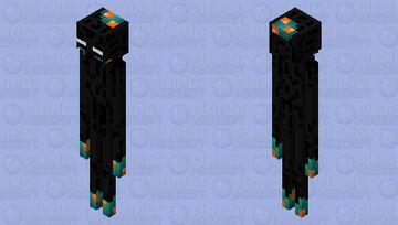 Warped Forest Enderman Minecraft Mob Skin