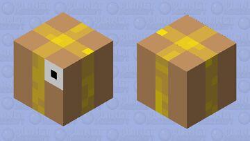 BOX FISH Minecraft Mob Skin
