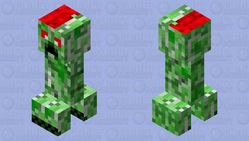 Creepy Creeper (Bloody) Minecraft Mob Skin